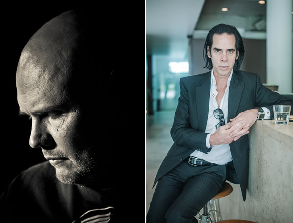 Billy Corgan, 2012. Nick Cave, 2013. Foto: Rodrigo Jardón